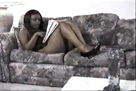 Femmes noires nues des plages bresiliennes