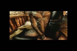 Femme noire nue charnue photo